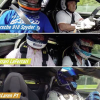 El McLaren P1, Porsche 918 Spyder y LaFerrari se enfrentan en Spa Francorchamps