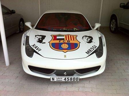 Dolorpasión™: el Ferrari 458 Italia <em>Barça Edition</em>