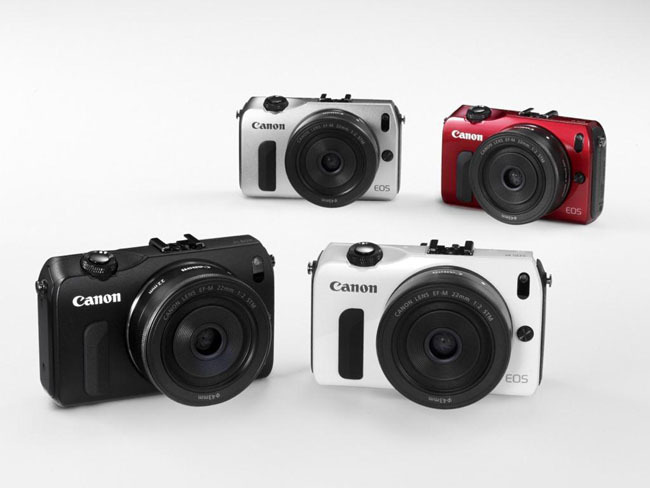 Canon EOS M disponible en 4 colores