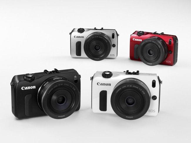 Canon EOS M disponible en 4 colores