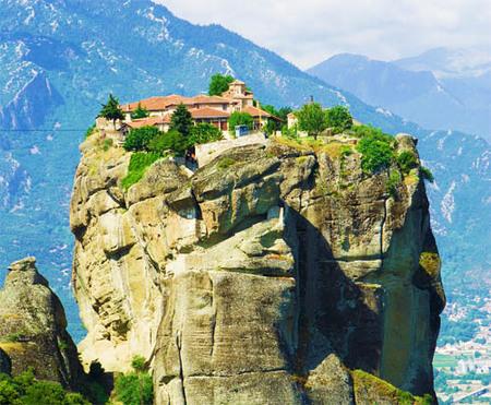 Monasterio de la Trinidad, Meteora