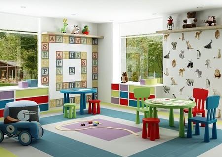 Céramica en la habitación de los niños, ¿buena o mala idea?