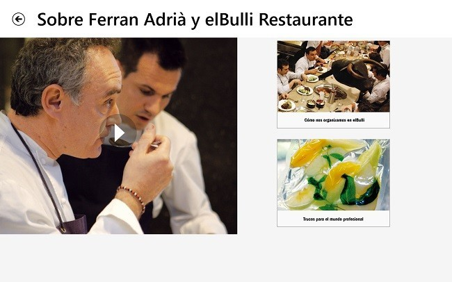 Sobre Ferran Adrià y elBulli Restaurante