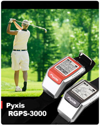 Reloj GPS para golfistas: Pyxis RGPS-3000