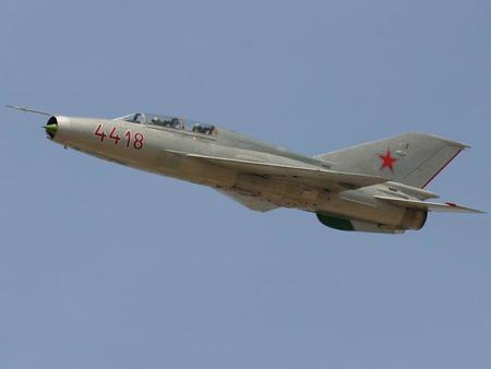 [Vídeo] En la cabina de un Mikoyán-Gurévich MiG-21