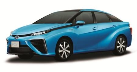 Toyota FCV, así es el coche de hidrógeno que se venderá el próximo año