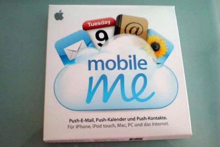 Apple envía cajas de MobileMe por error