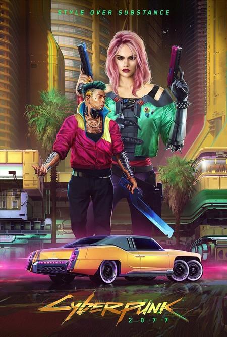 Cyberpunk 2077 - Póster