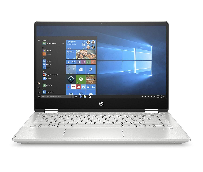 """HP Pavilion x360 14-dh0003ns - Ordenador portátil convertible táctil de 14"""" FullHD (Intel Core i5-8265U, 8GB RAM, 256GB SSD, Intel Graphics, Windows 10) color plata - Teclado QWERTY Español"""