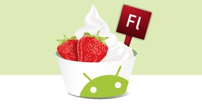 Nexus One ejecutando Flash 10.1 en Froyo (Android 2.2)