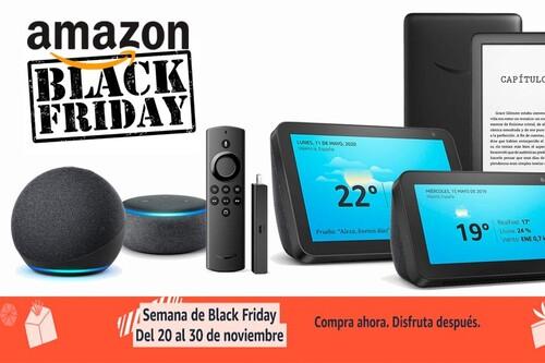 Por el Black Friday, tienes los Echo, Kindle y Fire TV de Amazon más baratos que nunca