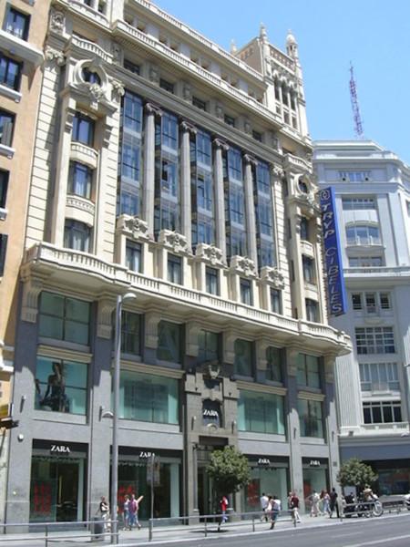 Zara Gran Vía Madrid