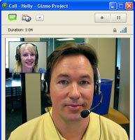 Gizmoproject también se apunta a las videoconferencias en su versión 4.0