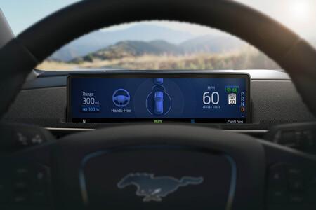 Ford Mustang Mach-E Cipilot 360 conducción autonoma