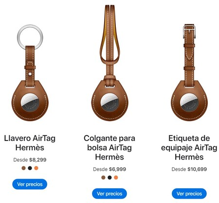 Apple AirTags disponibles en México