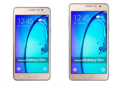 Samsung Galaxy On5 Pro y On7 Pro, una renovación más tímida que 'Pro'