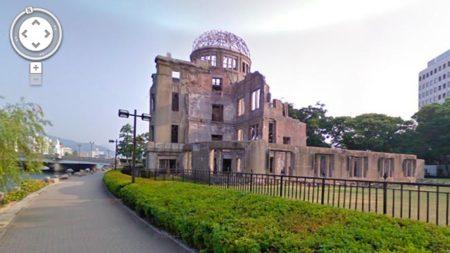 Imagen de Hiroshima en Google Street View