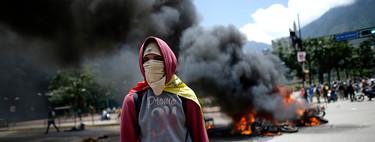 7 imágenes que explican qué pasó ayer en Venezuela, un país encaminado a la guerra civil