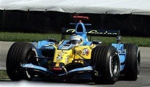 Renault, Alonso y Fisichella