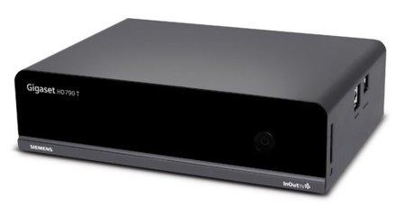Gigaset HDT790 TW, disco duro multimedia con gestión de torrents y acceso a videoclub online