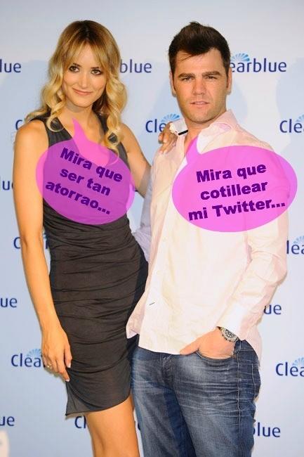 Fonsi Nieto es más de discutir con la ex en Twitter que en persona
