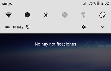 Novedad en Android O: la barra de ajustes rápidos se renueva