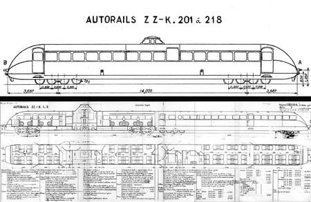 Bugatti tren planos