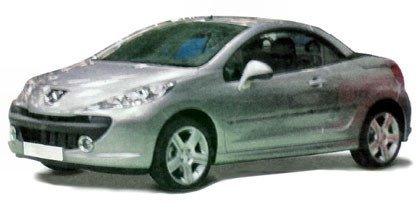 Peugeot 207 CC, primeras fotos espías