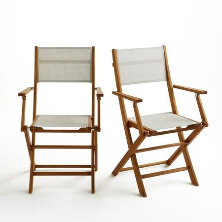 Set de dos sillas de exterior