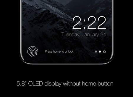 El iPhone 8 cambiaría el botón 'Home' por un 'área de funciones' y así poder tener toda la pantalla en el frontal
