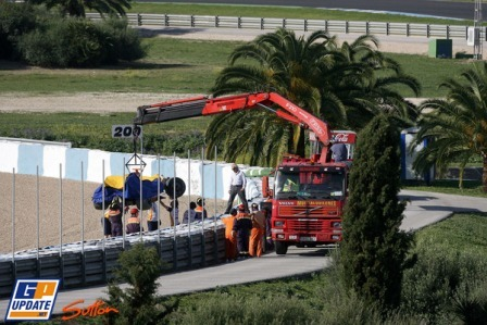 Dominio de Brawn GP y accidente de Alonso en Jerez