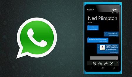 WhatsApp para Windows Phone 8 sigue evolucionando, comparte vídeos y múltiples imágenes