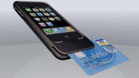 Lector de tarjetas de crédito para el iPhone de Mophie