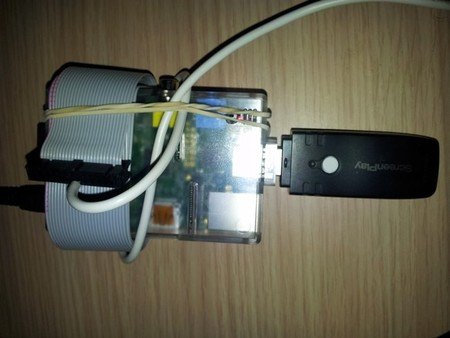Raspberry Pi conectada