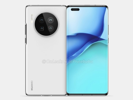Huawei Mate 40 Pro Render Filtracion