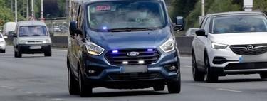 Las furgonetas camufladas de la DGT: cómo son y qué multas te pueden poner