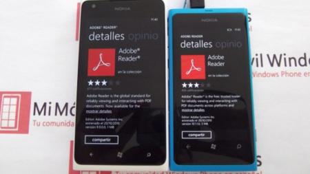 Lumia 900 adobe