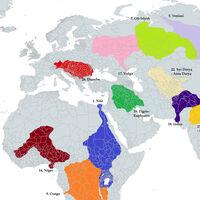 ¿Y si los ríos fueran naciones? Las mayores cuencas hidrográficas del planeta, en un mapa