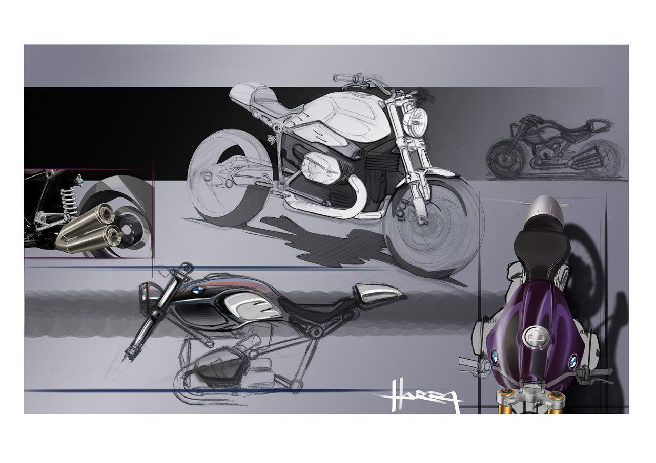Foto de BMW R nineT, diseño, lifestyle media (25/26)