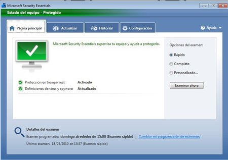 Microsoft Security Essentials para empresas a partir de Octubre