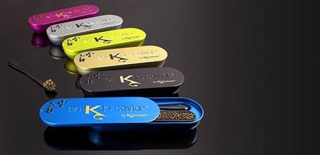 La solución de bolsillo para los amantes del caviar: @en-K de Kaviari