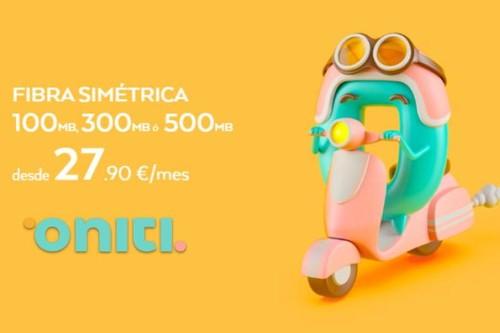 Nuevo OMV Oniti se estrena con fibra low cost desde 100 Mbps por 27,90 euros