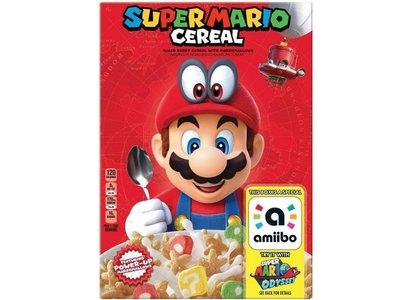 La fiebre por Super Mario y Nintendo llega a los cereales (con diez gramos de azúcar por taza)