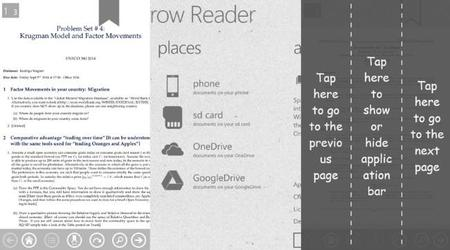 Sparrow Reader, una alternativa a Adobe para leer PDFs en Windows Phone. La aplicación de la semana