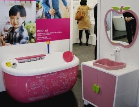 Un cuarto de baño para niños