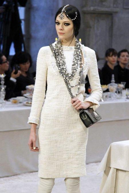 Chanel Pre-Fall 2012 blanco