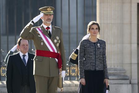 La Reina Doña Letizia comienza el año de la manera más elegante posible en la tradicional Pascua Militar