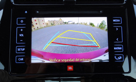 Seguridad Prueba Toyota Prius 2016 Detalles Interiores