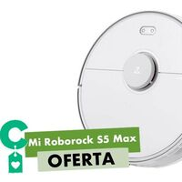Chollazo. Por 100 euros menos que en otras tiendas, tienes en eBay el robot aspirador Roborock S5 Max a 305 euros si usas el cupón PQ42020