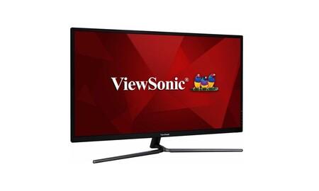 32 pulgadas y resolución WQHD por sólo 239 euros: PcComponentes tiene el monitor ViewSonic VX3211-2K-MHD superrebajado